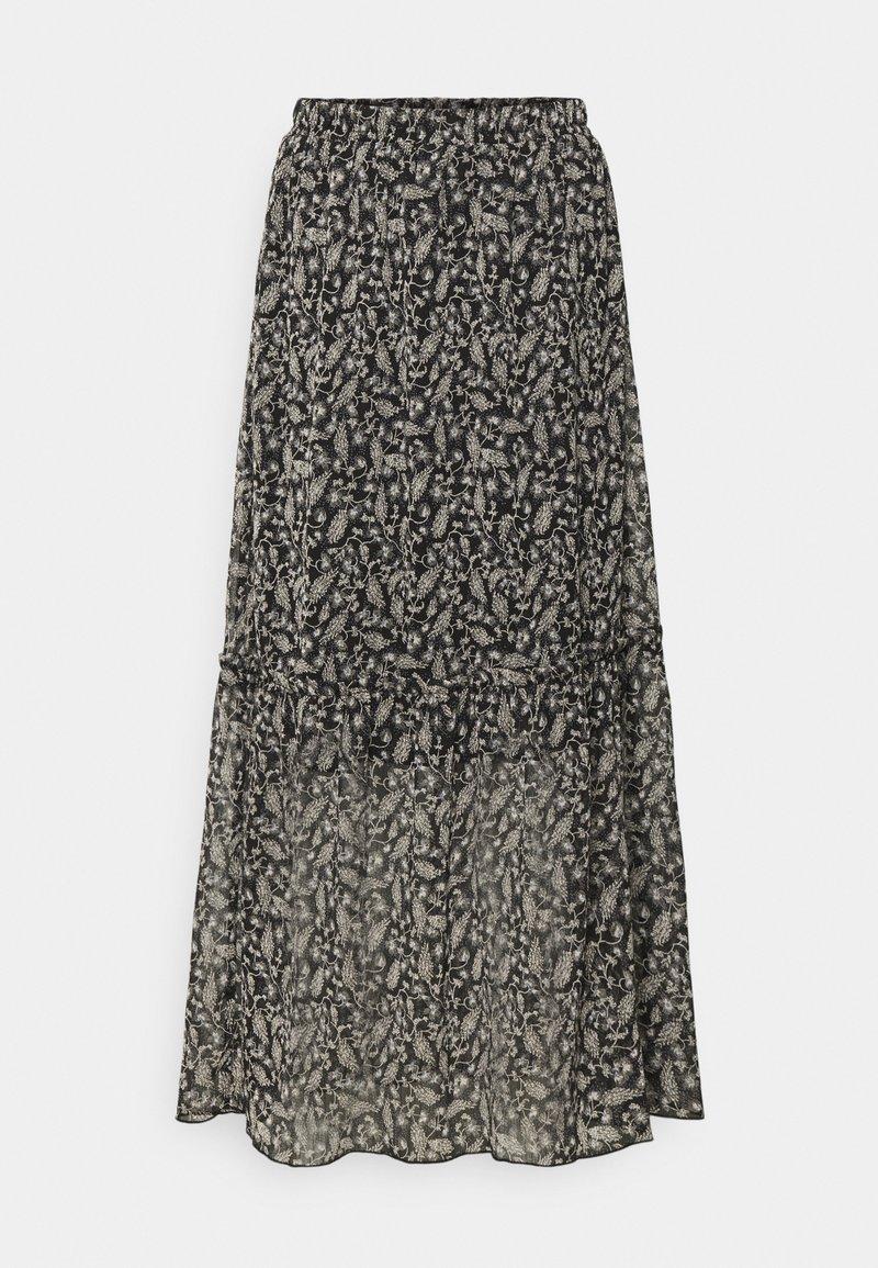 Saint Tropez - VALERIESZ  - Maxi skirt - black