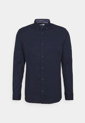 JJJUSTIN DETAIL SHIRT - Skjorta - navy blazer