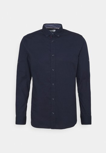 JJJUSTIN DETAIL SHIRT - Camicia - navy blazer