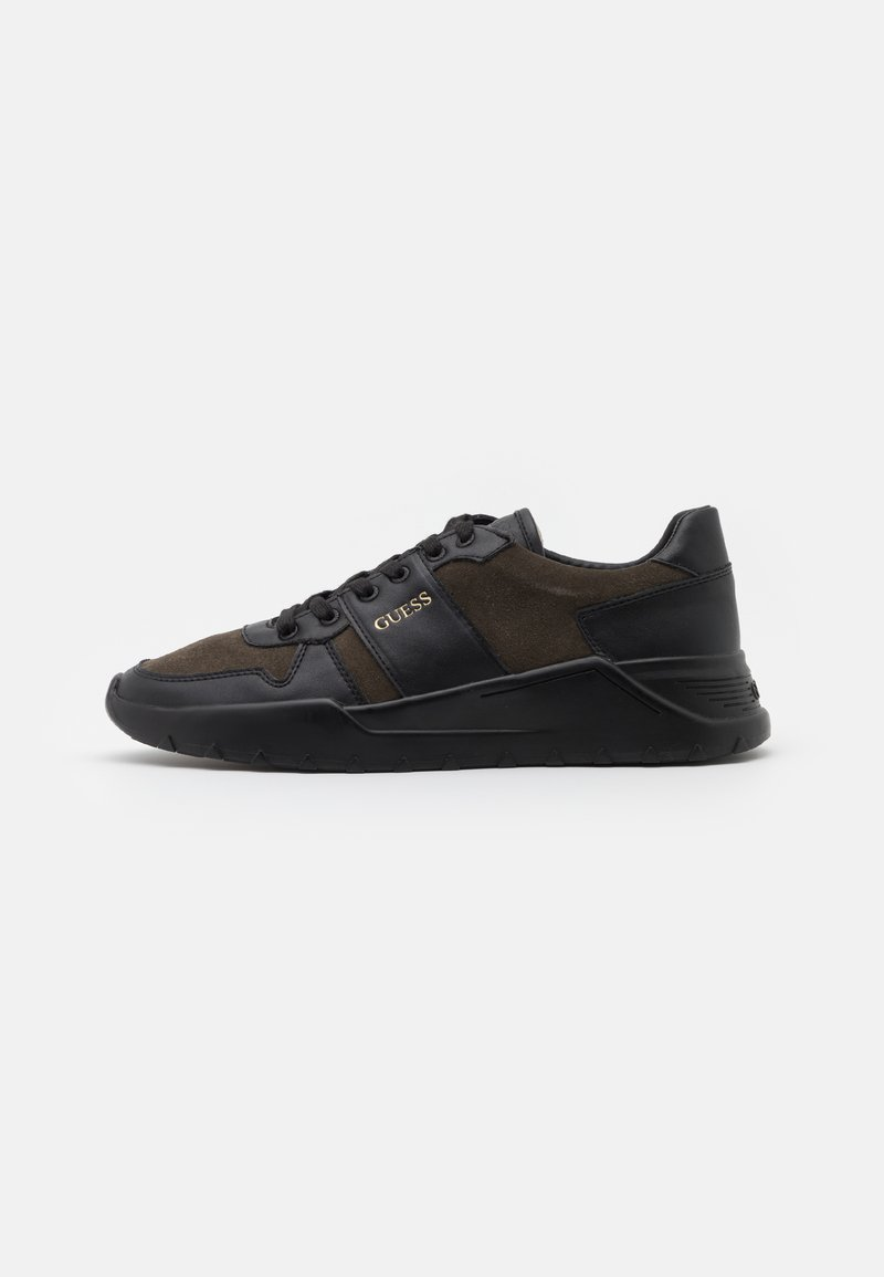 Guess - LUCCA - Trainers - black/grey