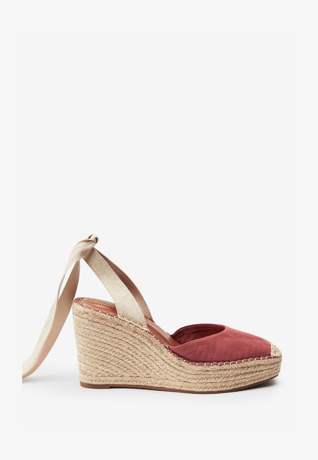 Sandalen met hoge hak - pink
