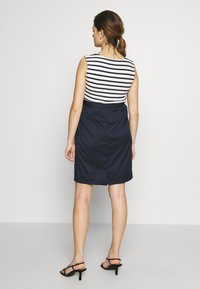 Balloon - STRAIGHT DRESS STRIPES - Vestito estivo - navy-white