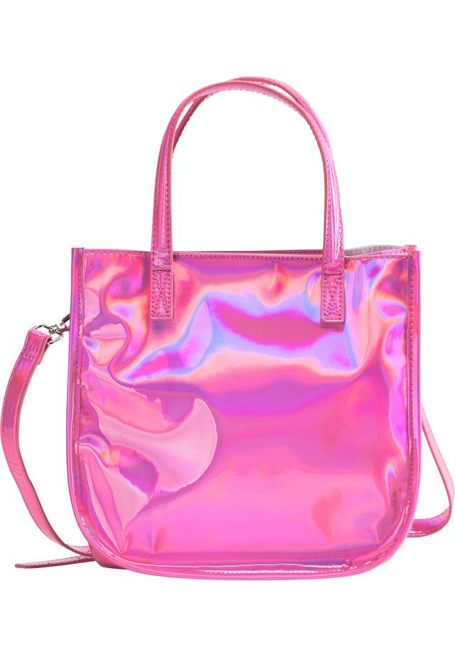Handtasche - pink holo