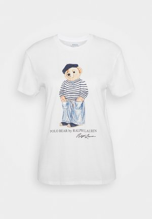 SHORT SLEEVE - T-Shirt print - white