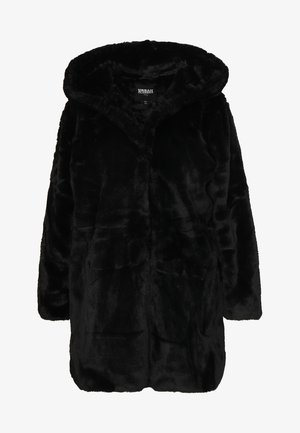 LADIES HOODED COAT - Veste d'hiver - black