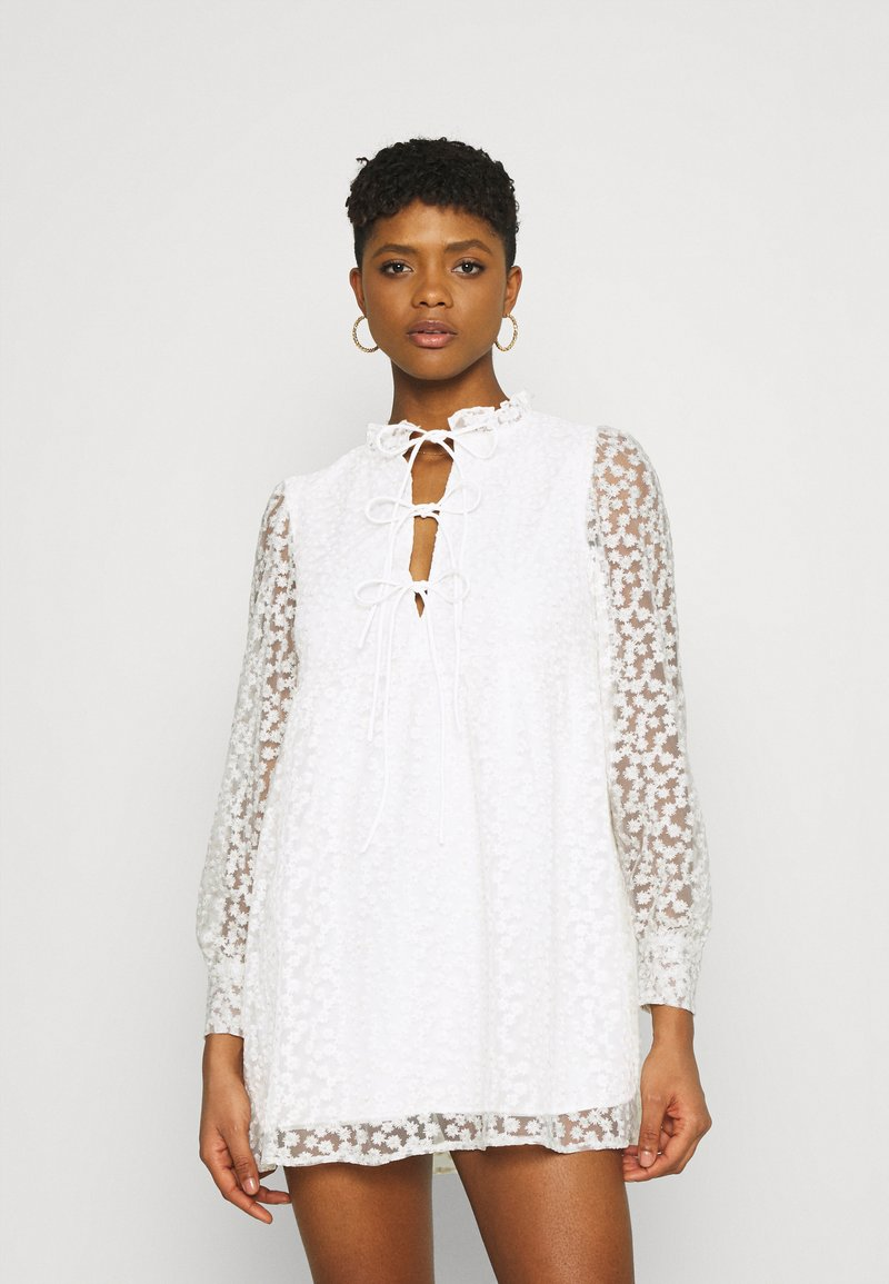 Gina Tricot - DEA DRESS - Cocktail dress / Party dress - off-white