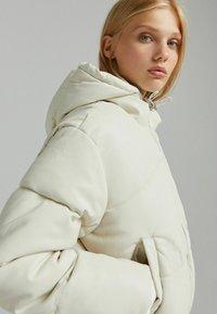 Bershka - Light jacket - off-white - 3