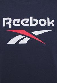 Reebok Classic - VECTOR TEE - T-shirts print - navy - 2
