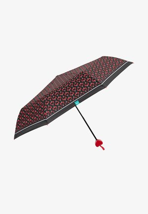 FOLDING UMBRELLA WITH HEARTS - Umbrella - cuori e frecce