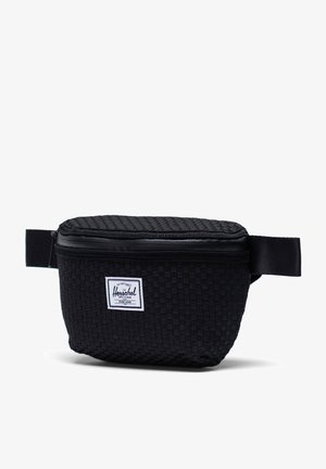 WOVEN FOURTEEN GÜRTELTASCHE - Bum bag - black