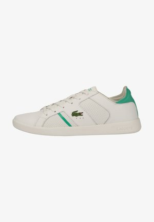 Sneakers laag - wht/grn 082