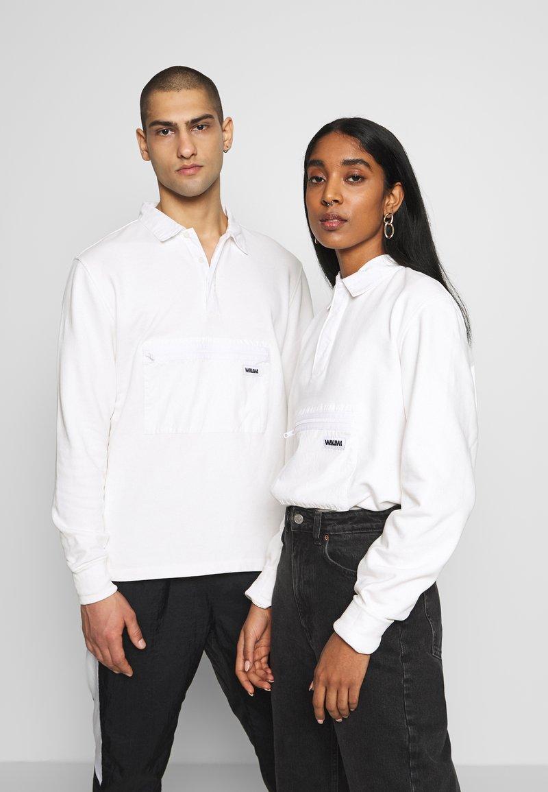 WAWWA - WAWWA UNISEX JONAH RUGBY  - Sweatshirt - white