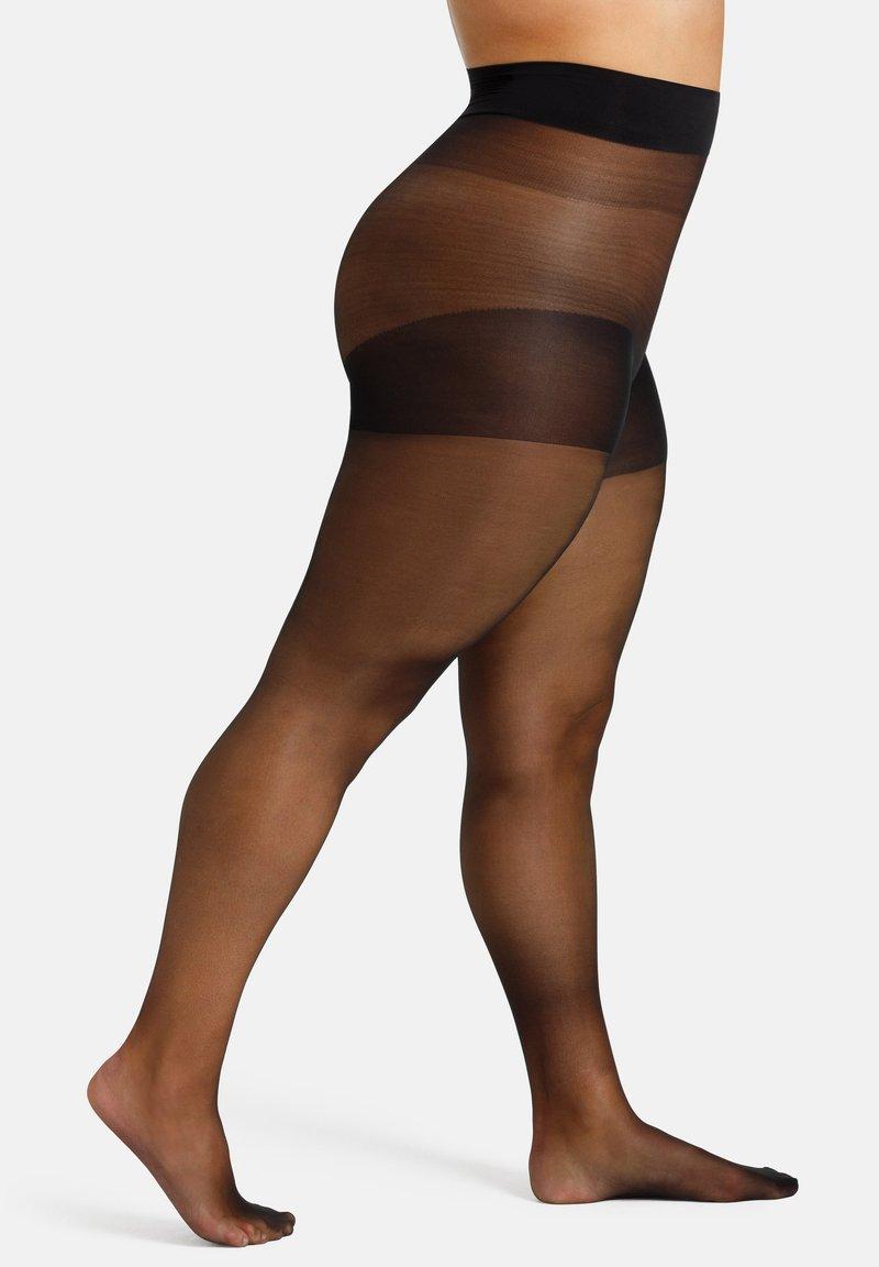 camano - FEINSTRUMPFHOSE WOMEN CURVY DEN 20 MATT - Tights - black