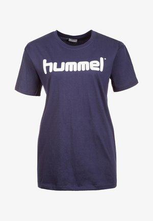 HMLGO  - Print T-shirt - blue