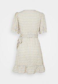VILA PETITE - VIOLIVANA WRAP DRESS - Day dress - sunlight/ashley blie - 1