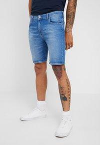 Lee - RIDER  - Denim shorts - jaded - 0