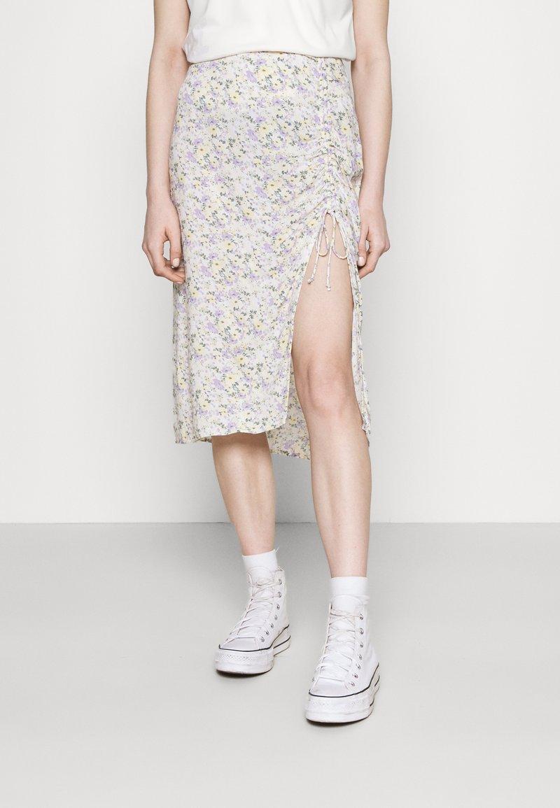 Hollister Co. - A-line skirt - white