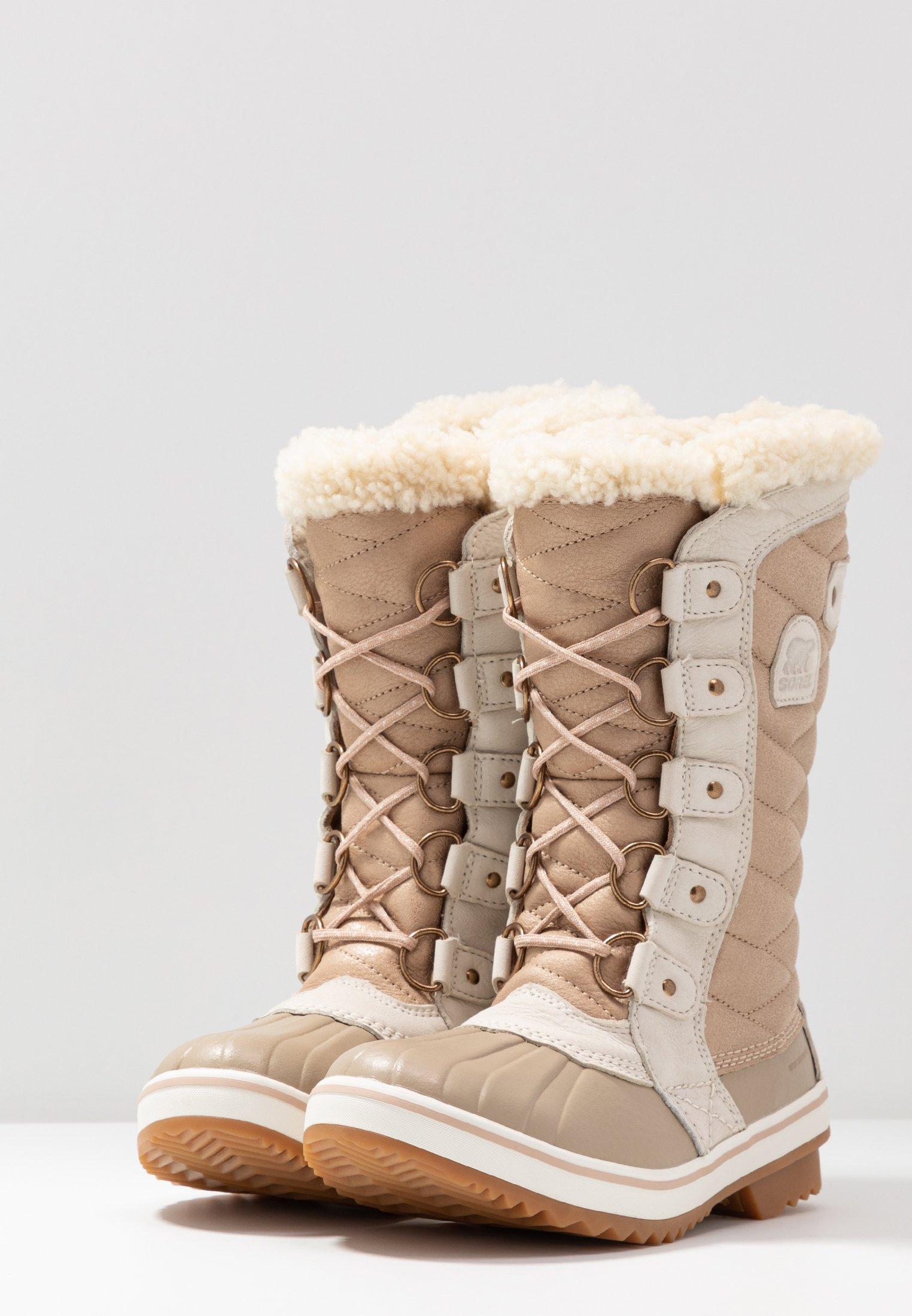 Sorel TOFINO II LUX - Bottes de neige - natural tan - Bottes femme Haute qualité