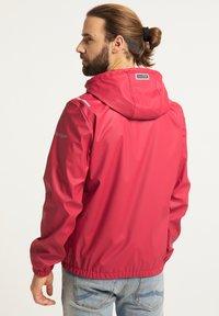 Schmuddelwedda - Waterproof jacket - rot - 2