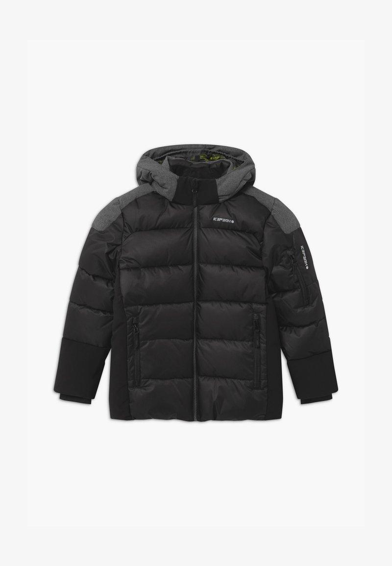 Icepeak - LOMBARD UNISEX - Snowboardjakke - black