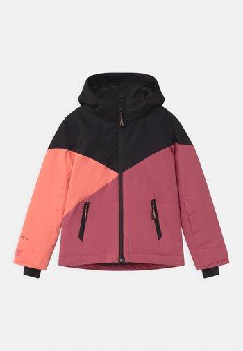 SHEERWATER GIRLS - Snowboard jacket - pink grape