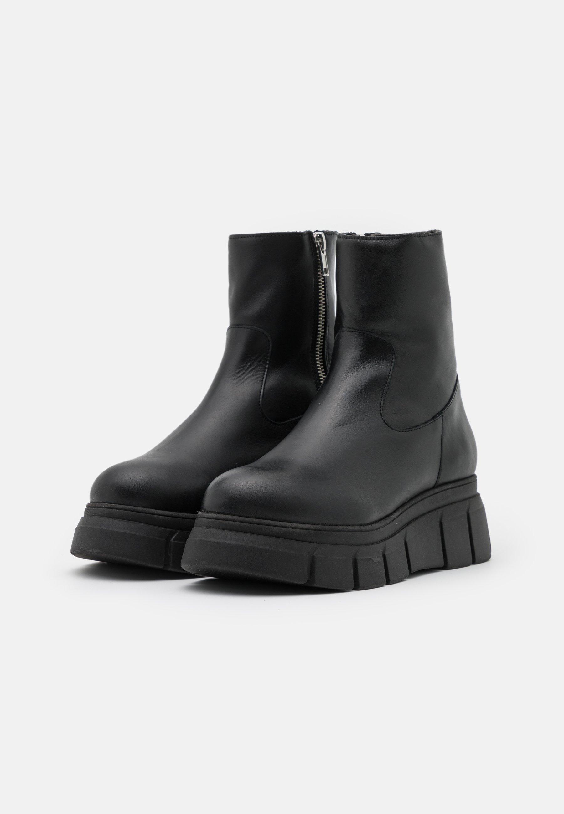 Kaltur BOOT Plateaustiefelette black/schwarz