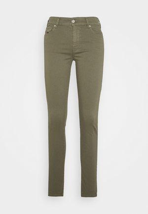 D-ROISIN - Skinny džíny - green