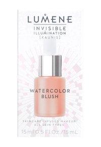 Lumene - WATERCOLOR BLUSH - Blusher - coral bloom - 1