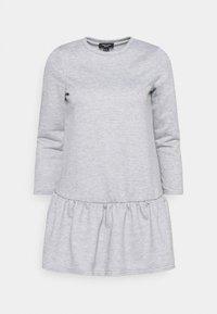 New Look Petite - DROP HEM DRESS - Day dress - grey niu - 4