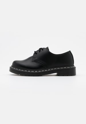 1461 - Sporty snøresko - black smooth