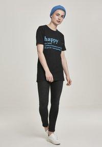 Merchcode - Camiseta estampada - black - 1