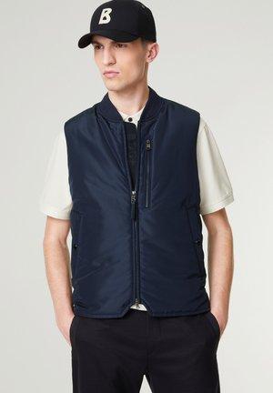 Waistcoat - navy-blau