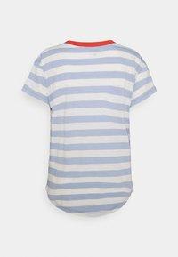 Madewell - WHISPER SORREL CREWNECK TEE - Print T-shirt - blue - 1