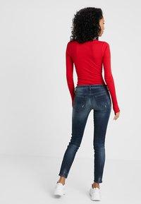 Diesel - SKINZEE LOW ZIP - Jeans Skinny Fit - indigo style exclusive - 2