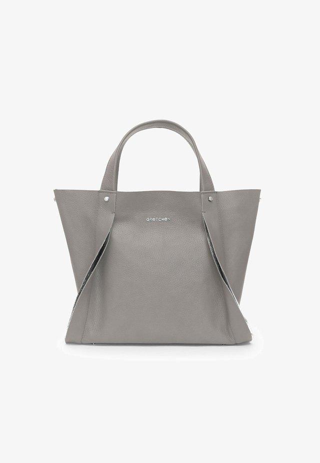 OPAL  - Tote bag - misty gray silver