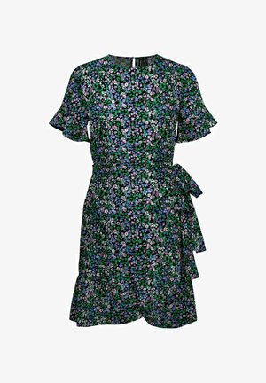 RUNDHALSAUSSCHNITT - Sukienka letnia - multi-coloured