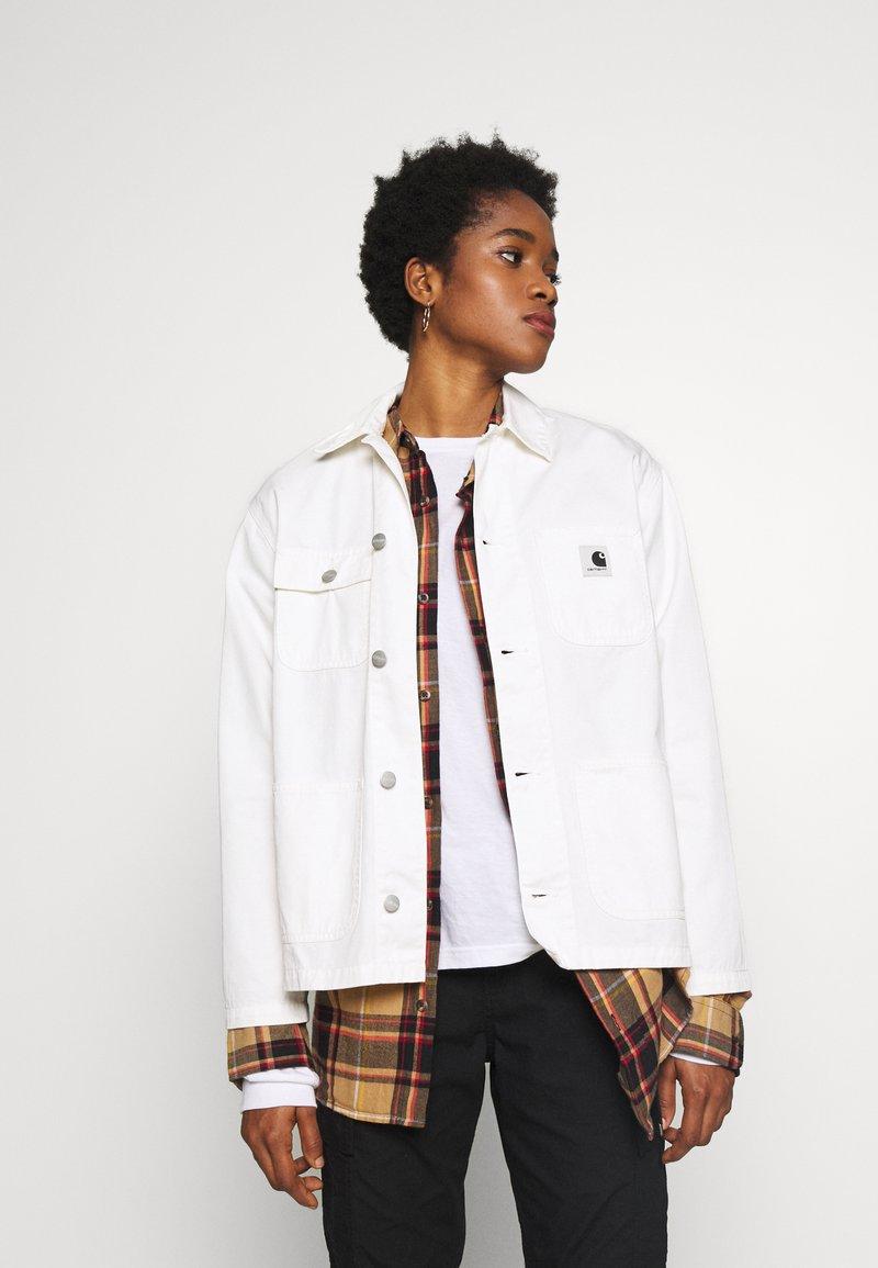 Carhartt WIP - MICHIGAN ACADIA - Summer jacket - off-white