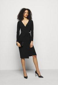 Lauren Ralph Lauren - CLASSIC DRESS - Jerseyjurk - black - 1