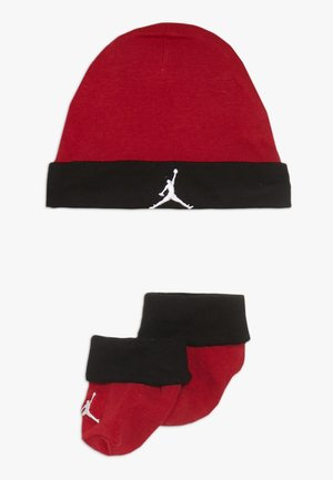 BASIC HAT BOOTIE SET  - Beanie - gym red
