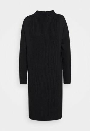 QUNOLA - Jersey dress - black