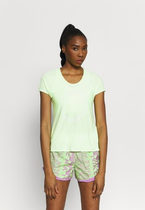 ICON CLASH MILER  - Print T-shirt - lime glow/clear
