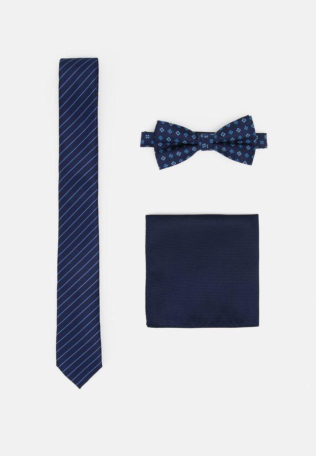 JACNECKTIE GIFT BOX SET - Krawatte - navy