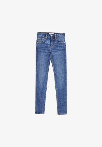 LOW WAIST - Skinny džíny - mottled blue