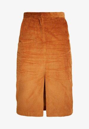 PAZ SKIRT - Pouzdrová sukně - braun