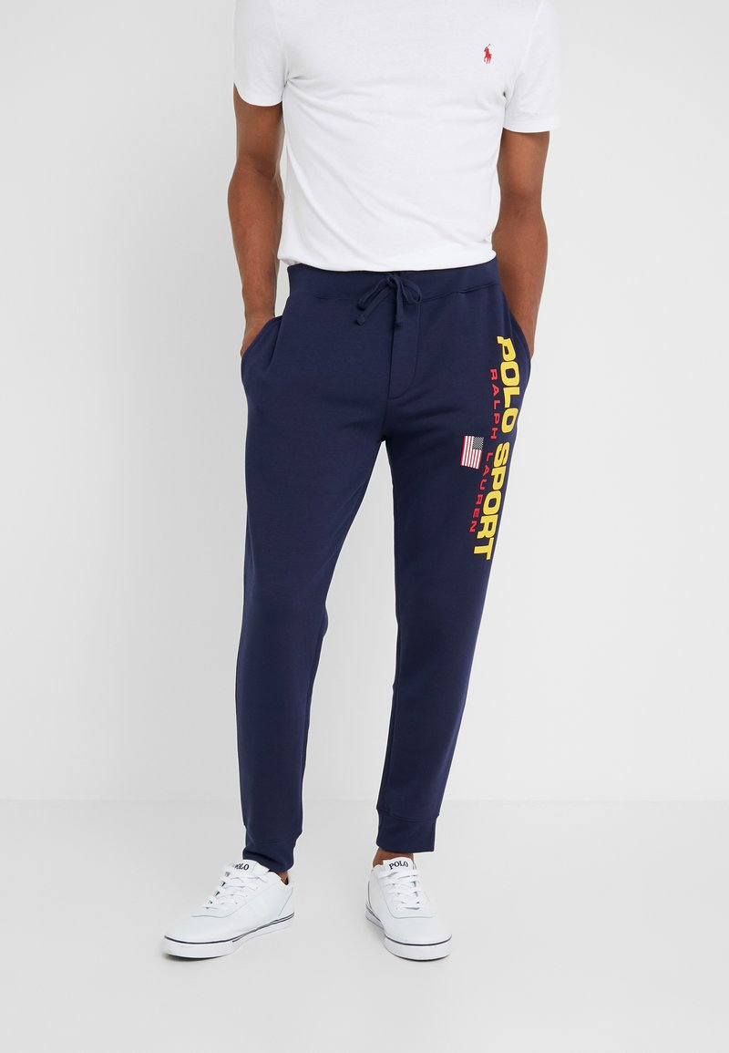 Polo Ralph Lauren - Tracksuit bottoms - cruise navy