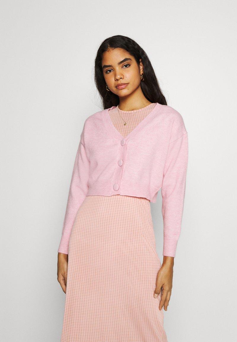 Fashion Union - EFFY CARDI - Cardigan - pink