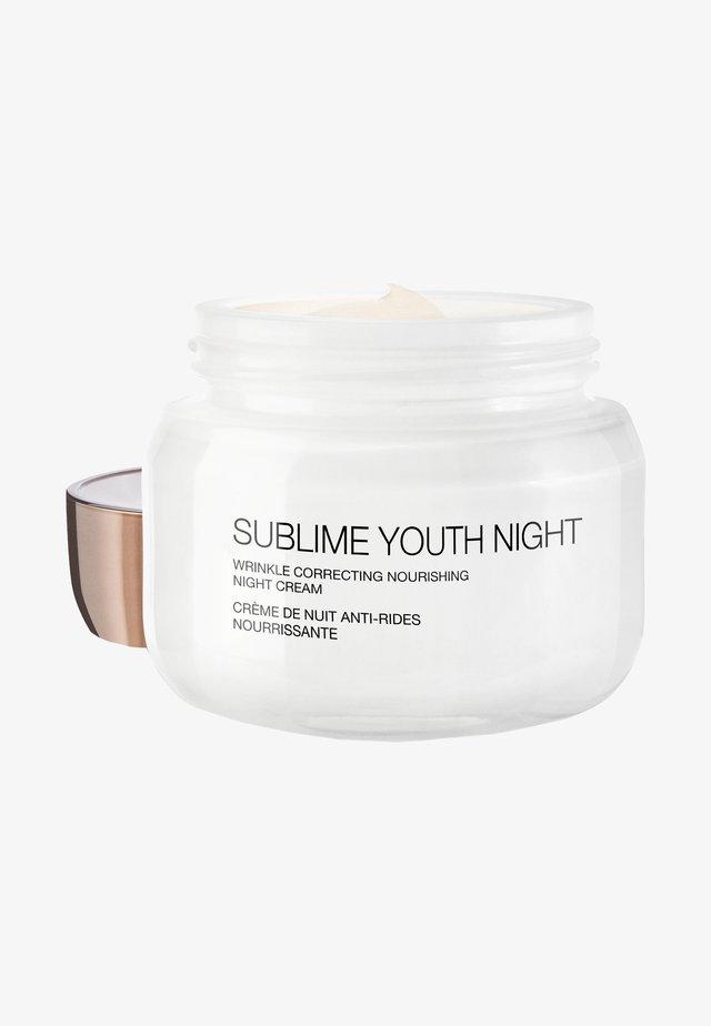 SUBLIME YOUTH NIGHT - Nachtverzorging - -
