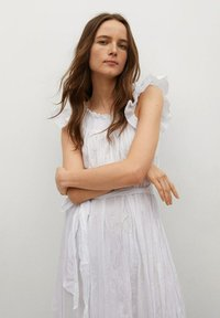 Mango - Day dress - blanco - 2