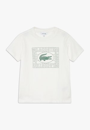 TEE - T-shirt med print - farine