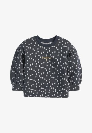 SPOT SPARKLE PUFF SLEEVE - Sweatshirt - grey